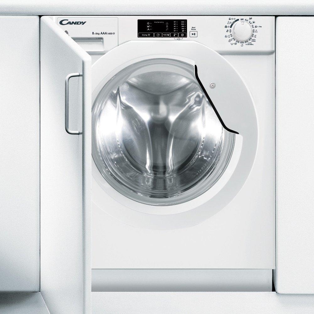 vstavaná práčka so sušičkou Candy CBWD 8514D-s práčka